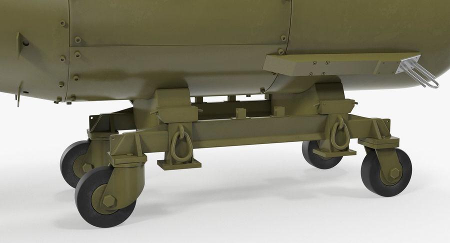 Bombe nucléaire de petit garçon sur le chariot royalty-free 3d model - Preview no. 9