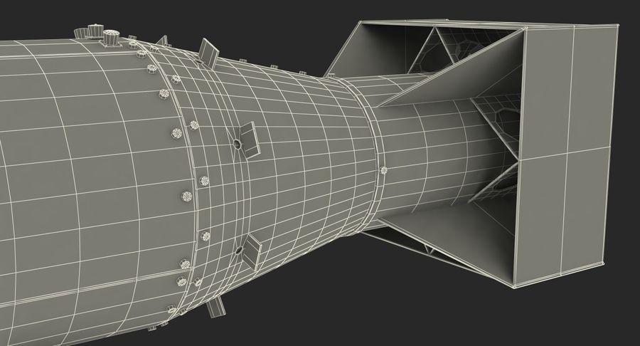Bombe nucléaire de petit garçon sur le chariot royalty-free 3d model - Preview no. 21