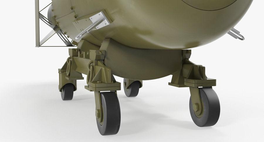 Bombe nucléaire de petit garçon sur le chariot royalty-free 3d model - Preview no. 8