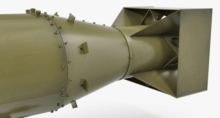 Bombe nucléaire de petit garçon sur le chariot royalty-free 3d model - Preview no. 10