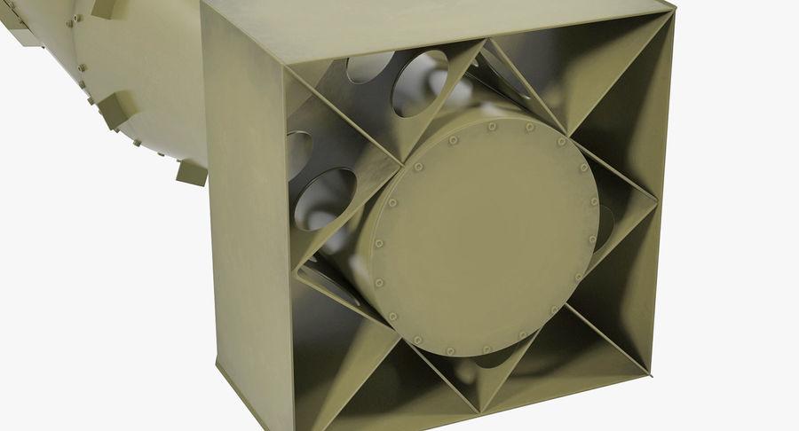 Bombe nucléaire de petit garçon sur le chariot royalty-free 3d model - Preview no. 11