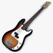 Fender P Bass modelo 3d