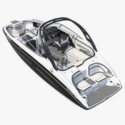 Lüks Sportboat Genel 3d model