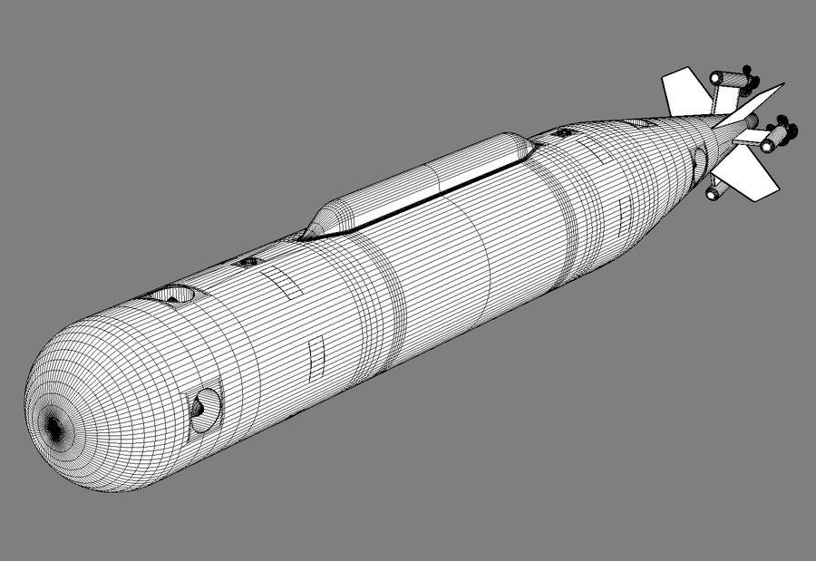 Poseidon, onderwatervoertuig. royalty-free 3d model - Preview no. 8