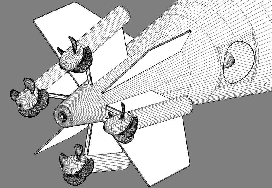 Poseidon, onderwatervoertuig. royalty-free 3d model - Preview no. 11