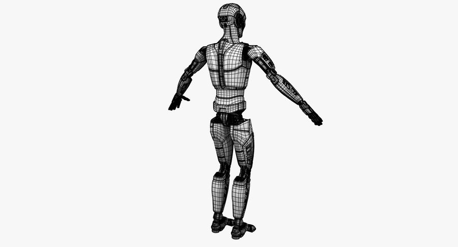Android Robot Man royalty-free 3d model - Preview no. 23