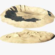 Moon Ground Set 3d model