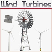 풍력 터빈 3D 모델 컬렉션 2 3d model