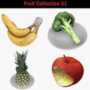Raccolta dei frutti 01 3d model