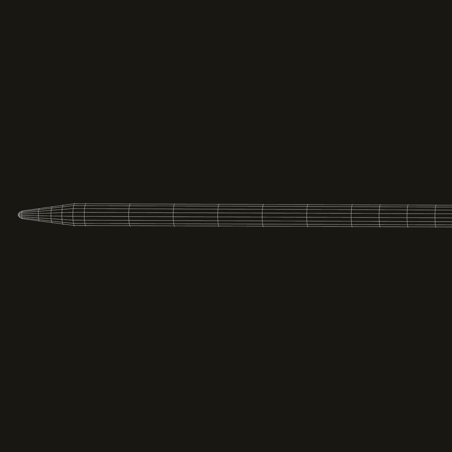 Arrow Dart royalty-free 3d model - Preview no. 8