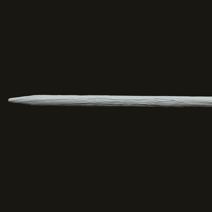 Arrow Dart royalty-free 3d model - Preview no. 7
