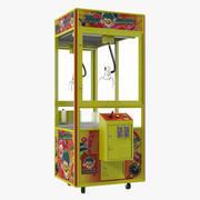 Коготь Торговый автомат Rigged 3d model