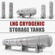LNG低温貯蔵タンク3Dモデルコレクション 3d model
