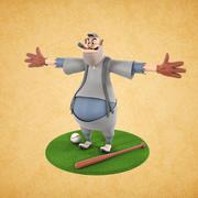 卡通形象 3d model