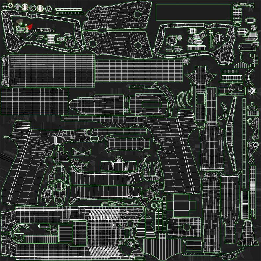 贝雷塔M9 royalty-free 3d model - Preview no. 19