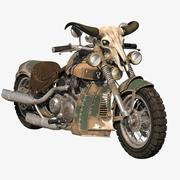Fantasy Bike 3d model
