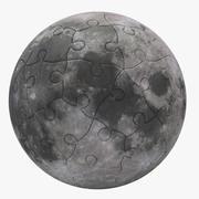Moon Puzzle 3d model