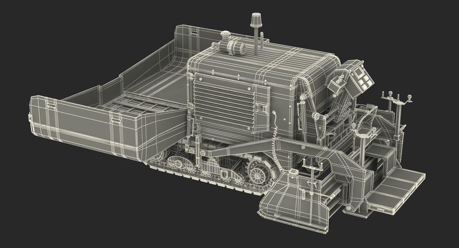 アスファルト舗装機械3Dモデル royalty-free 3d model - Preview no. 28