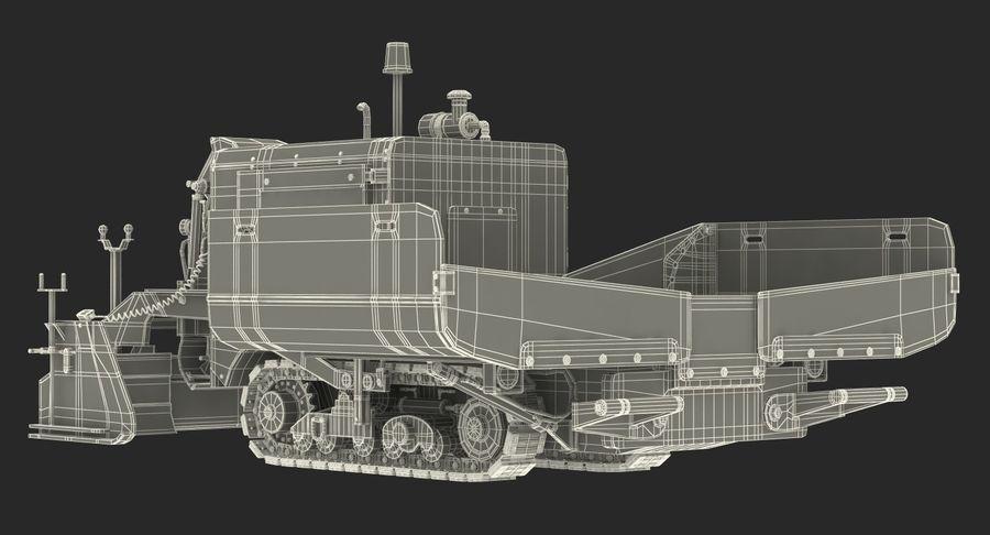 アスファルト舗装機械3Dモデル royalty-free 3d model - Preview no. 29