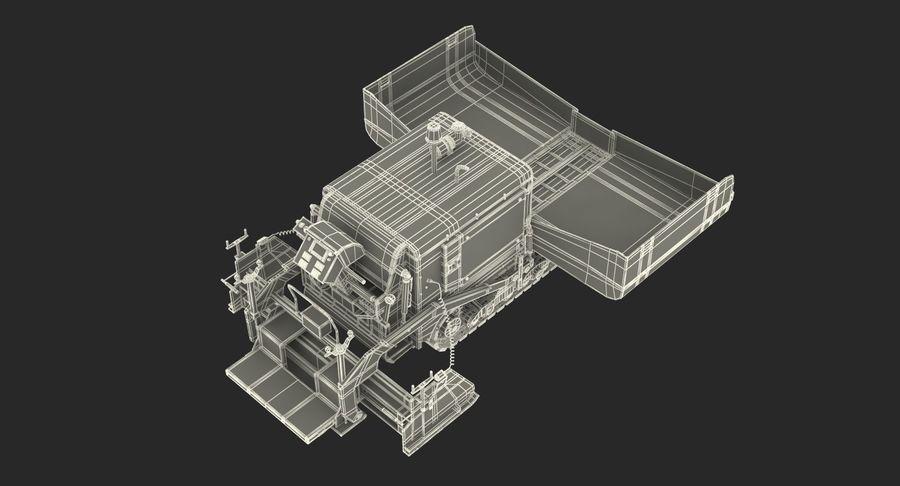 アスファルト舗装機械3Dモデル royalty-free 3d model - Preview no. 30