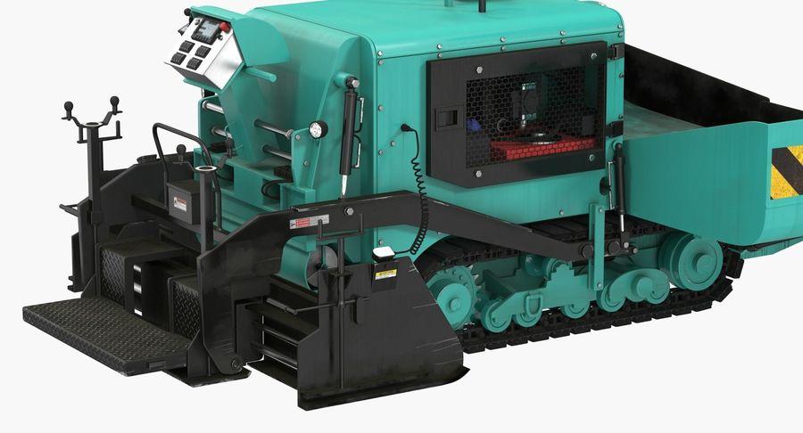 アスファルト舗装機械3Dモデル royalty-free 3d model - Preview no. 14