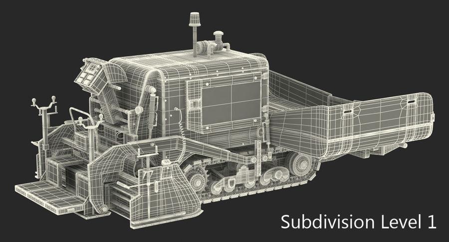 アスファルト舗装機械3Dモデル royalty-free 3d model - Preview no. 20