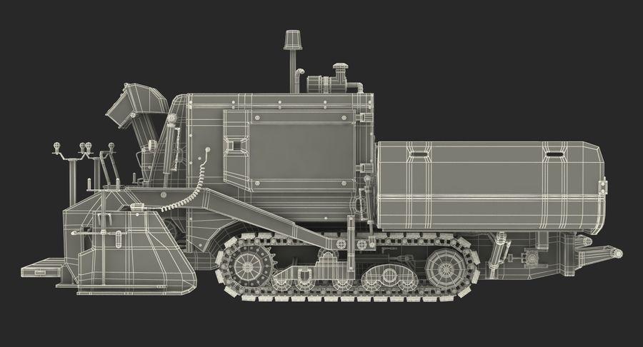 アスファルト舗装機械3Dモデル royalty-free 3d model - Preview no. 27