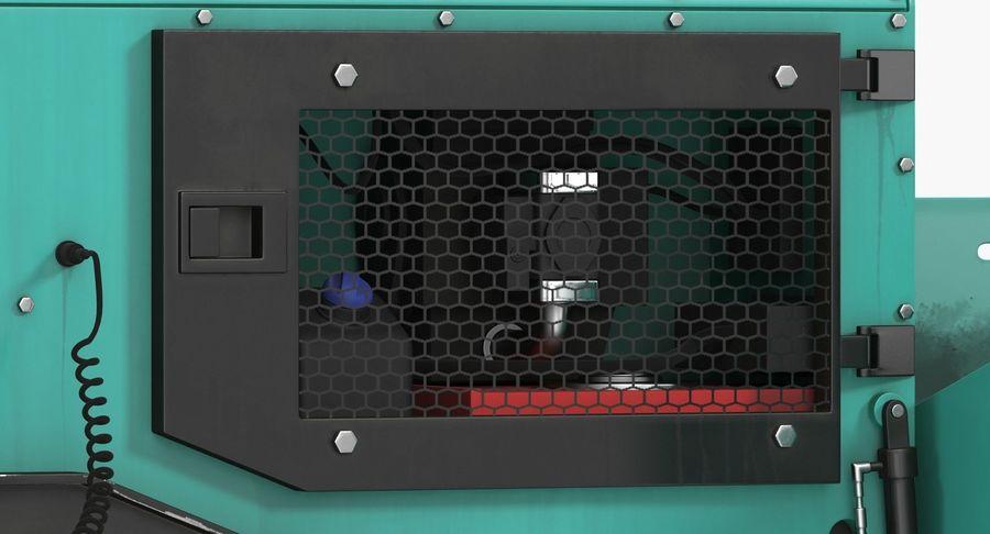 アスファルト舗装機械3Dモデル royalty-free 3d model - Preview no. 16