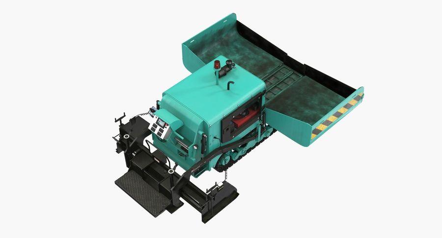 アスファルト舗装機械3Dモデル royalty-free 3d model - Preview no. 8