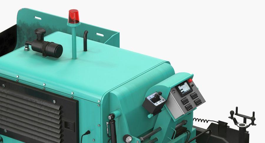 アスファルト舗装機械3Dモデル royalty-free 3d model - Preview no. 18