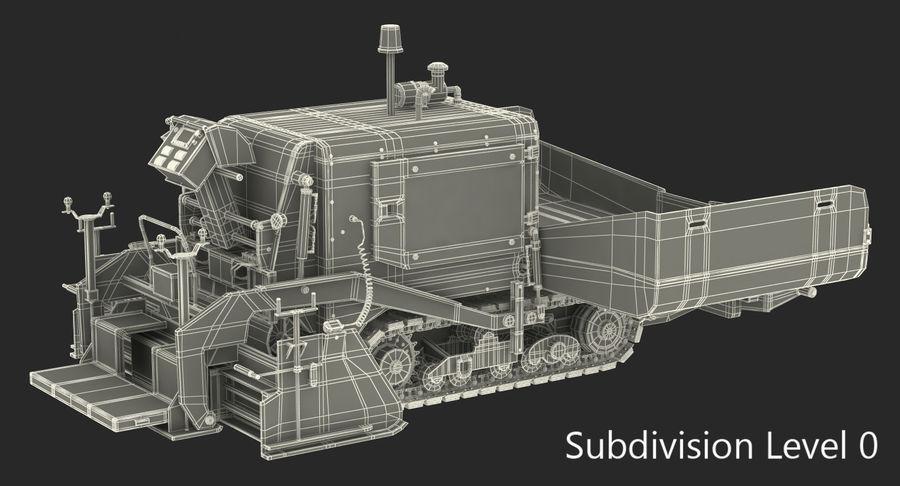 アスファルト舗装機械3Dモデル royalty-free 3d model - Preview no. 19