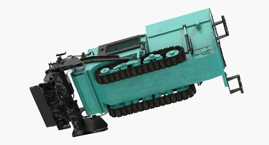 アスファルト舗装機械3Dモデル royalty-free 3d model - Preview no. 13