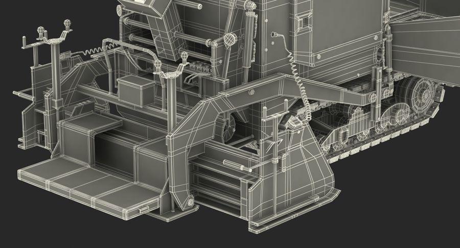 アスファルト舗装機械3Dモデル royalty-free 3d model - Preview no. 31