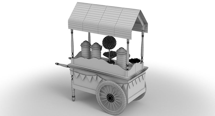 Collection de chariots royalty-free 3d model - Preview no. 19