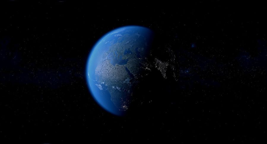 Earth Photorealistic 8K royalty-free 3d model - Preview no. 23