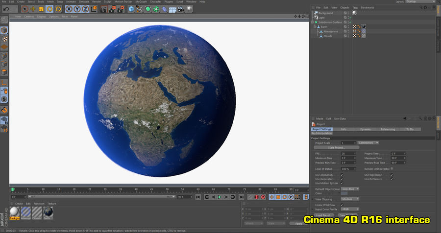 Earth Photorealistic 8K royalty-free 3d model - Preview no. 26