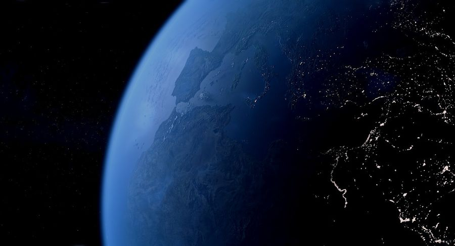 Earth Photorealistic 8K royalty-free 3d model - Preview no. 13