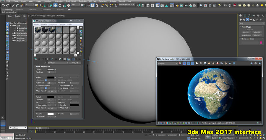 Earth Photorealistic 8K royalty-free 3d model - Preview no. 25
