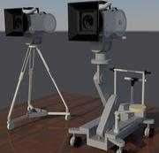 Professional Movie camera 3d model