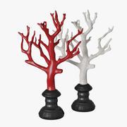 Коралловая статуэтка 3d model
