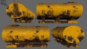 탱커 3d model