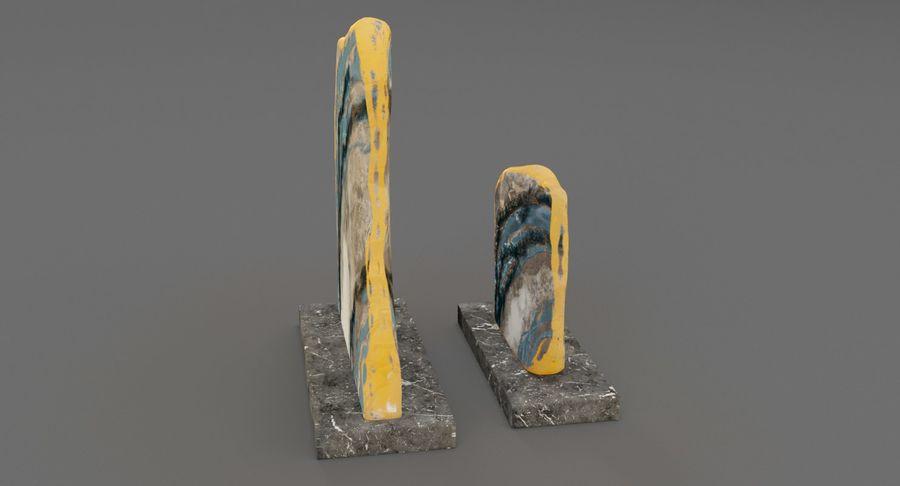 Plastry geodezyjne figurki dekoracyjne royalty-free 3d model - Preview no. 7