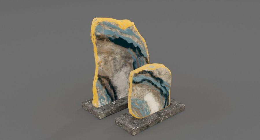 Plastry geodezyjne figurki dekoracyjne royalty-free 3d model - Preview no. 2