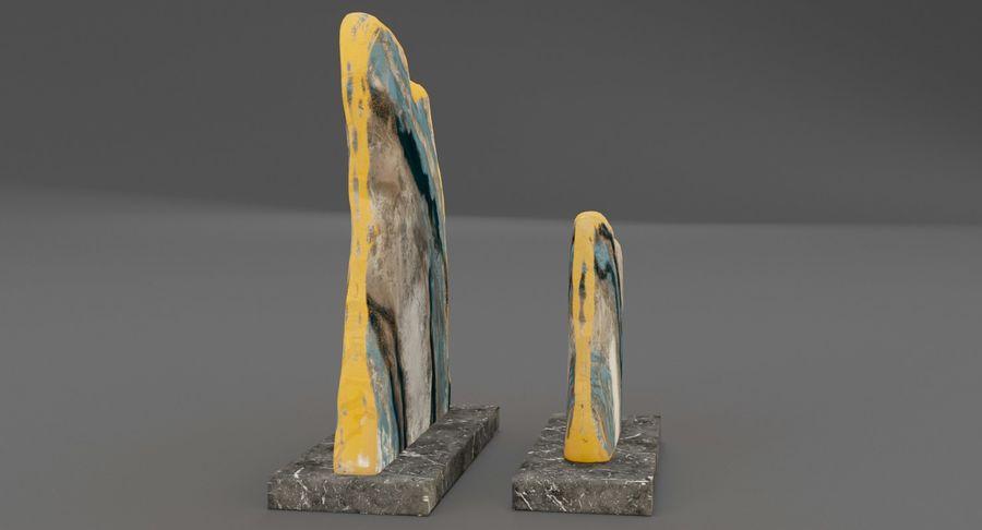 Plastry geodezyjne figurki dekoracyjne royalty-free 3d model - Preview no. 8