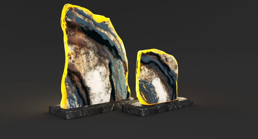 Plastry geodezyjne figurki dekoracyjne royalty-free 3d model - Preview no. 3