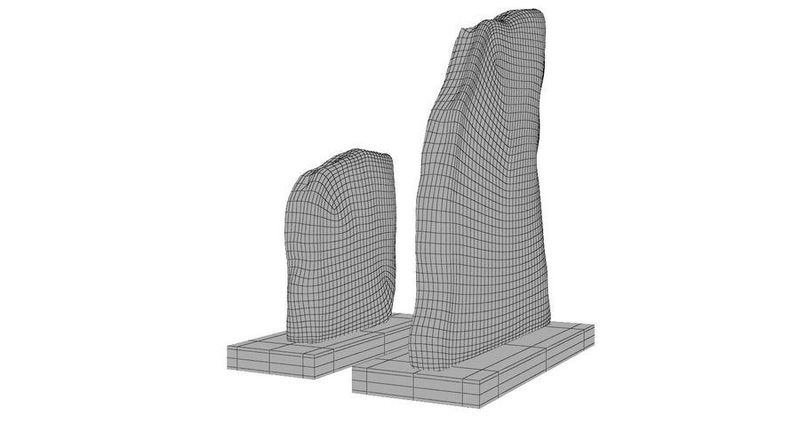 Plastry geodezyjne figurki dekoracyjne royalty-free 3d model - Preview no. 13