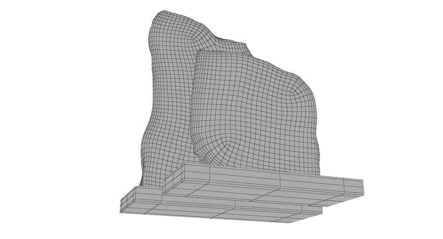 Plastry geodezyjne figurki dekoracyjne royalty-free 3d model - Preview no. 12