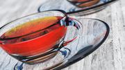 Tazza di tè trasparente 3d model