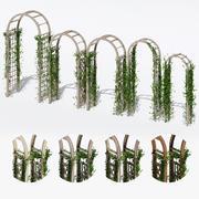 Tuinbogen drie 3d model