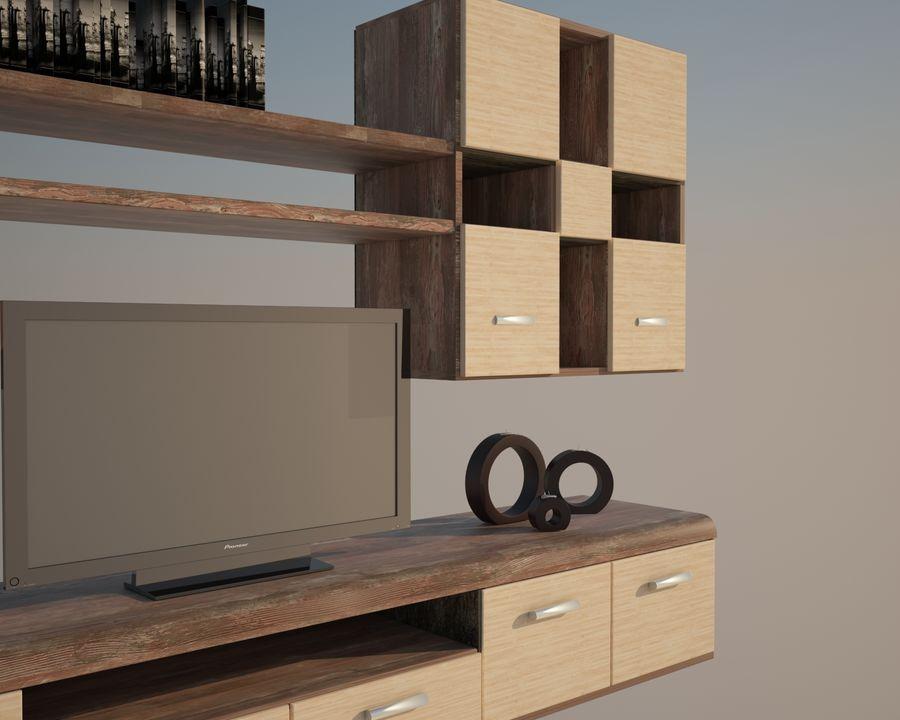 muebles para sala royalty-free modelo 3d - Preview no. 5